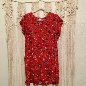 CLOSET CLEAN OUT! OLD NAVY Floral Dress